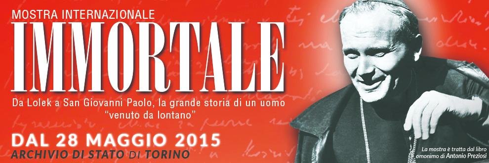 A Torino una mostra dedicata a Giovanni Paolo II