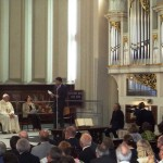 Papa Francesco al Tempio Valdese