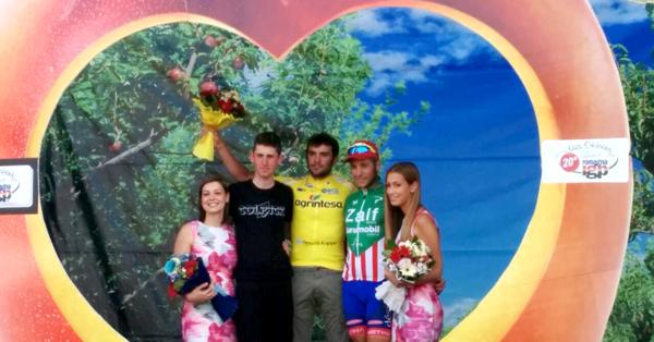 Ciclismo. Jacopo Mosca vince la maglia gialla al Giro Pesche Nettarine