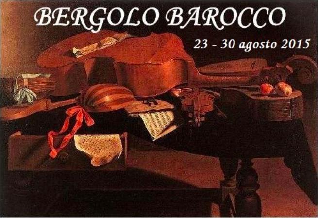 Locandina bergolo barocco
