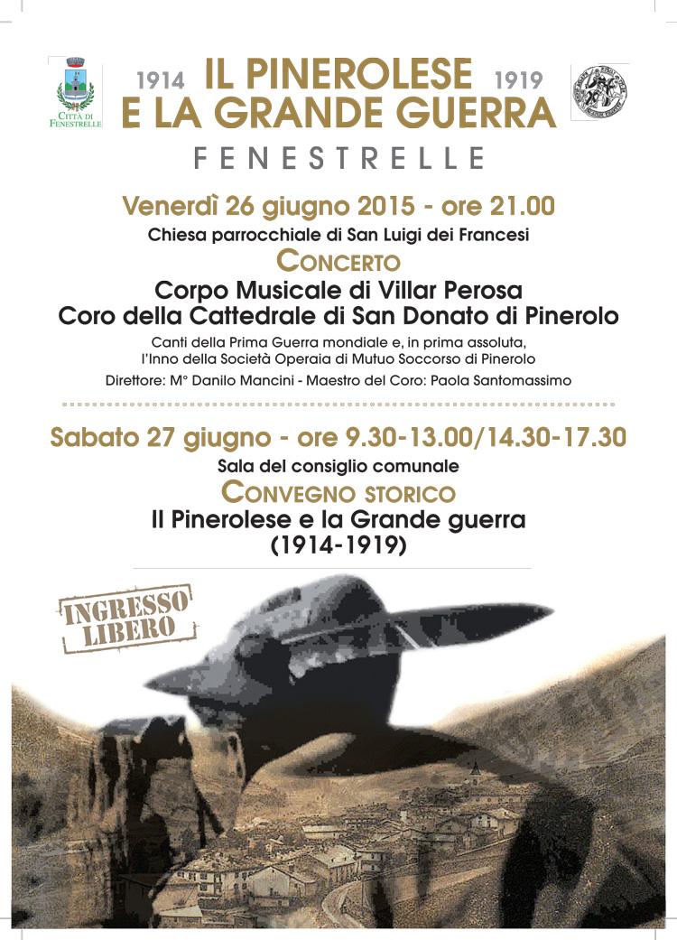 A Fenestrelle la Società Storica ricorda 100 anni dalla Grande Guerra
