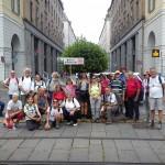 I pellegrini della Sindone in via Roma