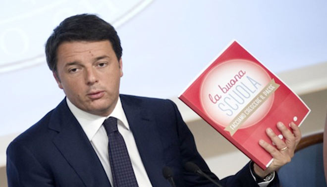 La riforma sulla scuola del governo Renzi solleva polemiche