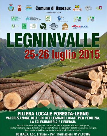 """Il 25 e il 26 luglio la IV edizione di """"Legninvalle"""" a Fraisse (Usseaux)"""