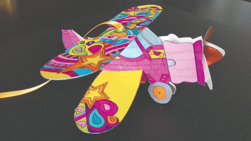 L'aereo porta ricordi di Vita Junior