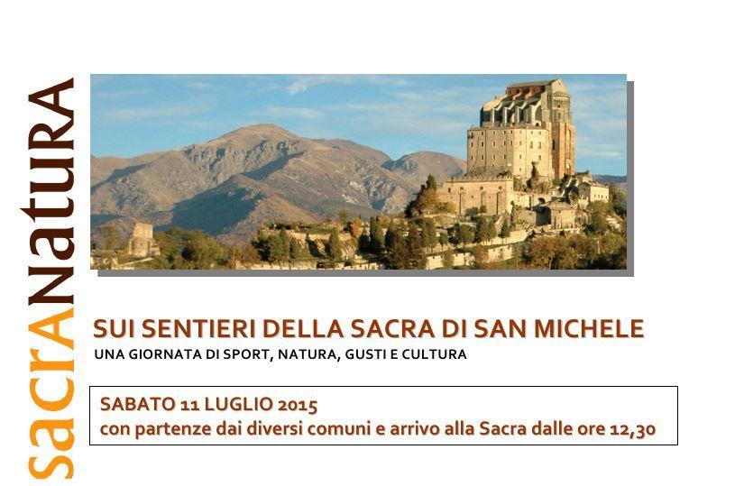"""11 luglio ecologico con """"I sentieri della Sacra di San Michele"""""""
