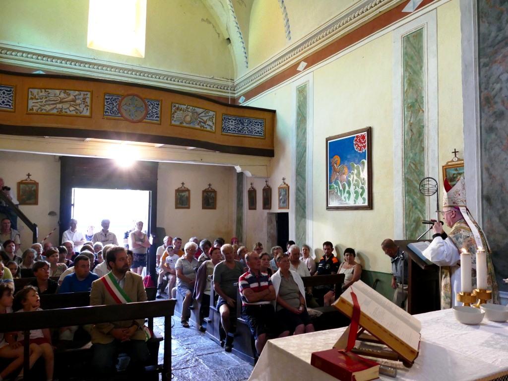 [Fotogallery]  Domenica 5 luglio Tagliaretto ha festeggiato i tre secoli della sua chiesa