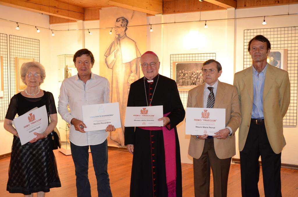 [Fotogallery] Sabato 4 luglio si è svolta la cerimonia di consegna del Premio Pinarolium