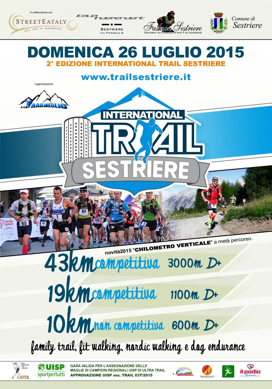"""Il 24, il 25 e il 26 luglio appuntamento con la """"Trail Sestriere"""""""