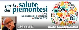 La copertina del profilo facebook di Antonio Saitta