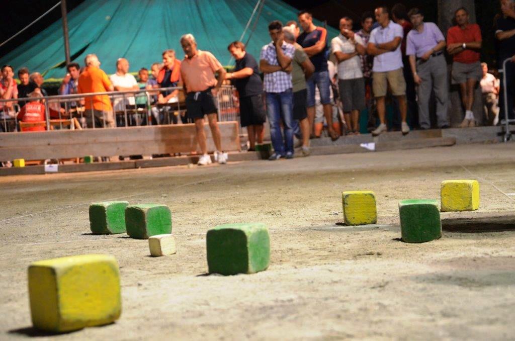 Baudenasca. Dall'8 al 9 agosto la tradizionale festa per la gara delle bocce quadre