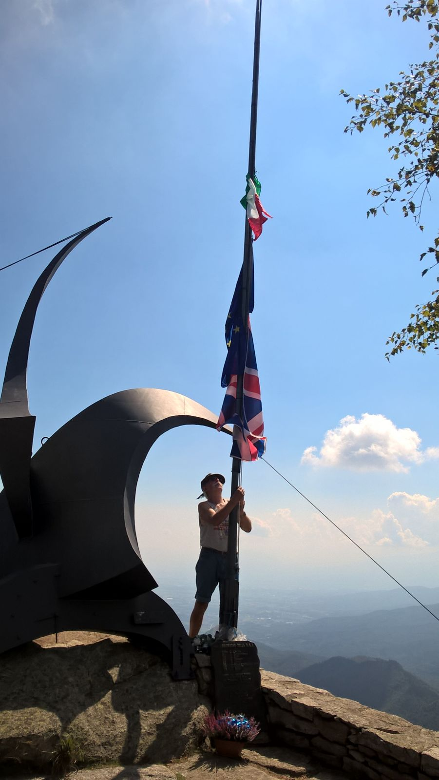 [ photogallery ] Messa sul Freidour in memoria dei piloti della RAF