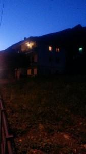 La casa in cui si è barricato Fabrizio Billia