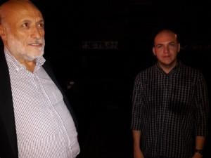 Carlin Petrini con il regista colombiano  César Acevedo