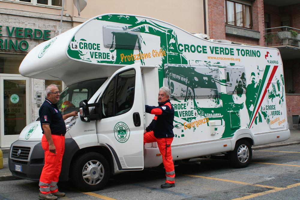 Torino. Confiscato alle autorità criminali, un nuovo caravan per la Croce Verde
