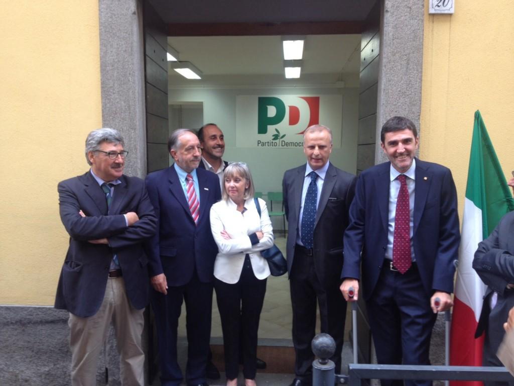 Inaugurazione sede PD Pinerolo