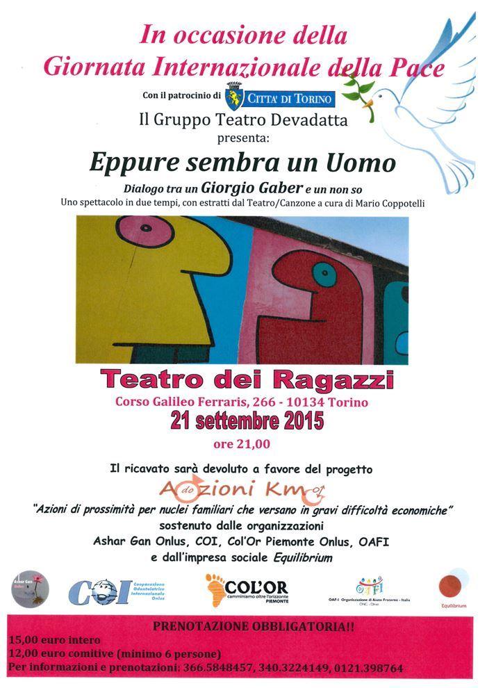 Appuntamenti solidali a settembre con l'associazione onlus Ashar Gan