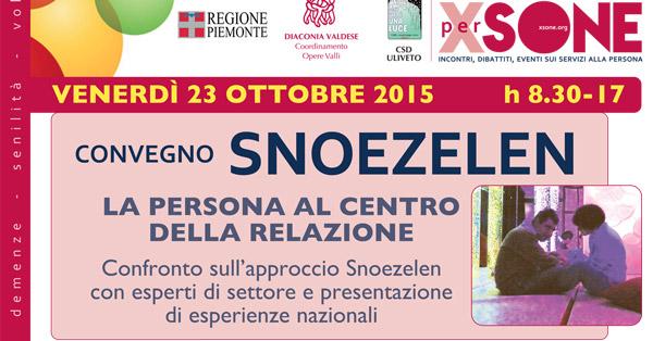 Torino. Il 23 ottobre un convegno sul metodo Snoezelen