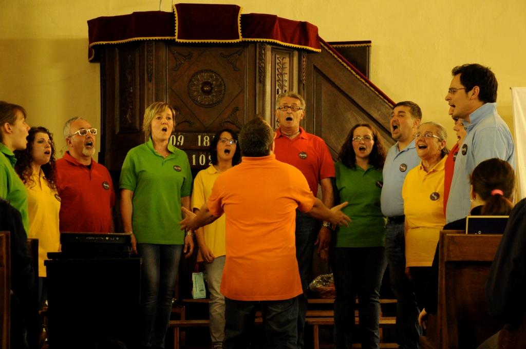 Il 16 ottobre a Torre Pellice appuntamento col coro Musikà