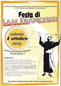 Locand. festa s. Francesco