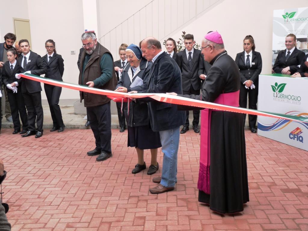 Inaugurata a Pinerolo la Scuola di Cucina del CFIQ
