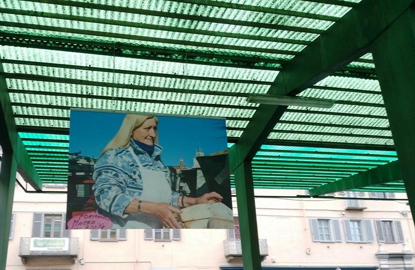 """Nuovo look per il """"mercato delle cavagne"""" di Pinerolo"""