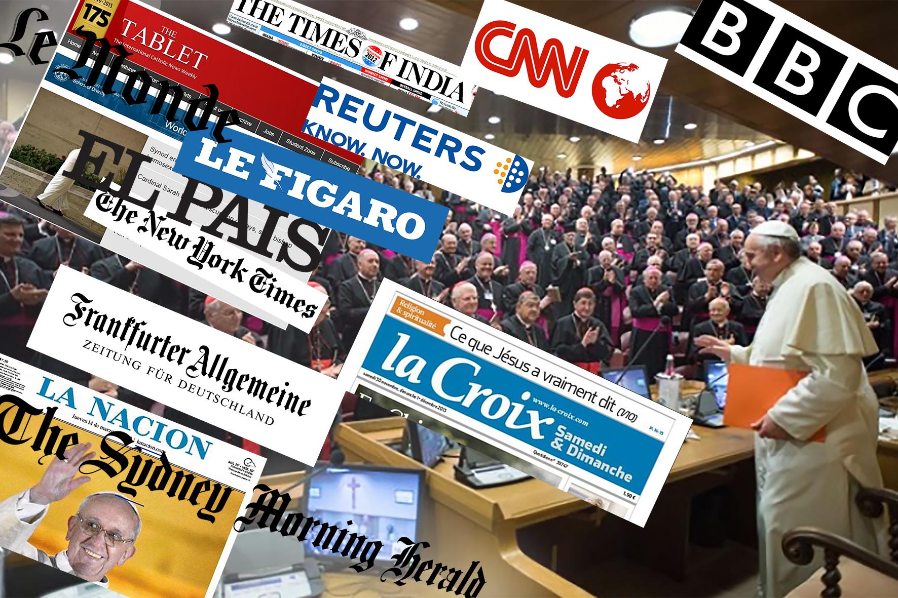 Sinodo sulla famiglia: i titoli e le reazioni sui giornali di tutto il mondo