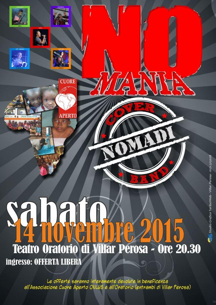 """Villar Perosa. Il 14 novembre le canzoni dei Nomadi al concerto dei """"Nomania"""""""