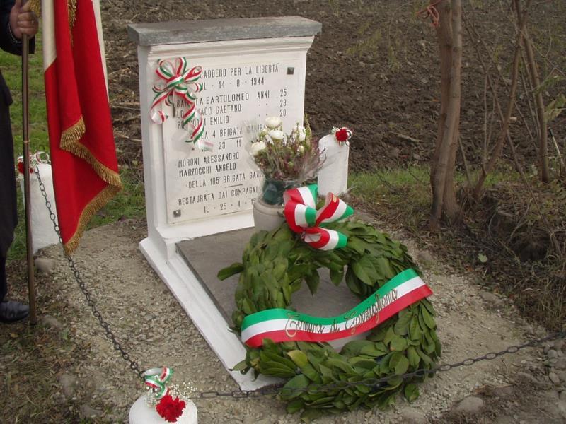 Il 22 novembre Garzigliana ricorda i caduti partigiani