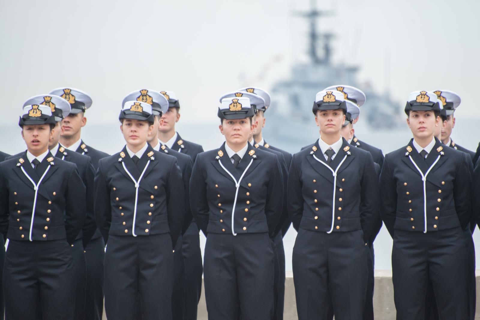 C'è anche un piemontese tra i cadetti dell'Accademia Navale di Livorno