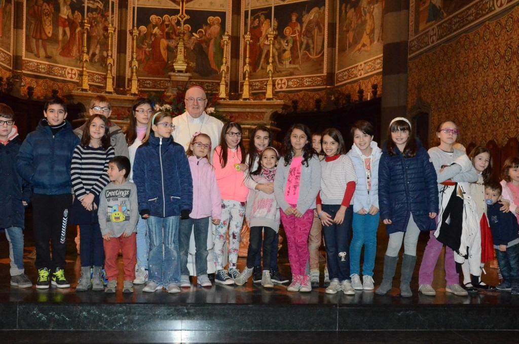 [ photogallery ] Nella cattedrale di Pinerolo la messa per le famiglie