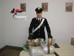 carabiniere droga