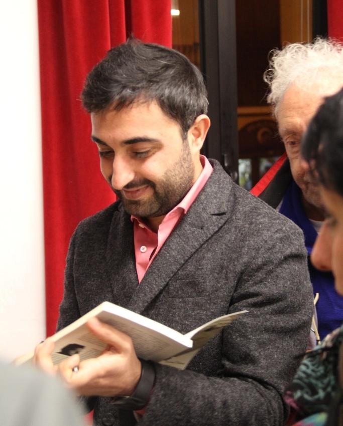 Rubiana. Farhad Bitani ospite di una conferenza racconta di guerra e di pace