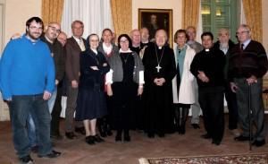 Mercoledì 23 dicembre il vescovo ha incontrato il personale della Curia per gli auguri di Natale