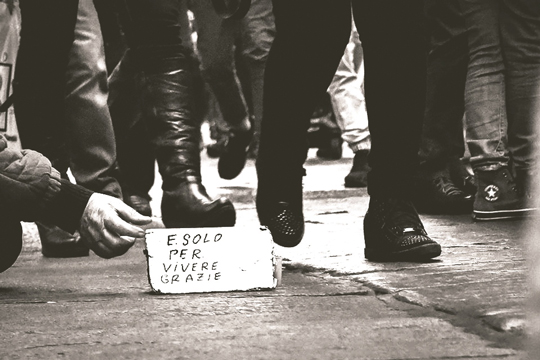Il 17 ottobre è uscito il Rapporto Caritas su povertà ed esclusione sociale