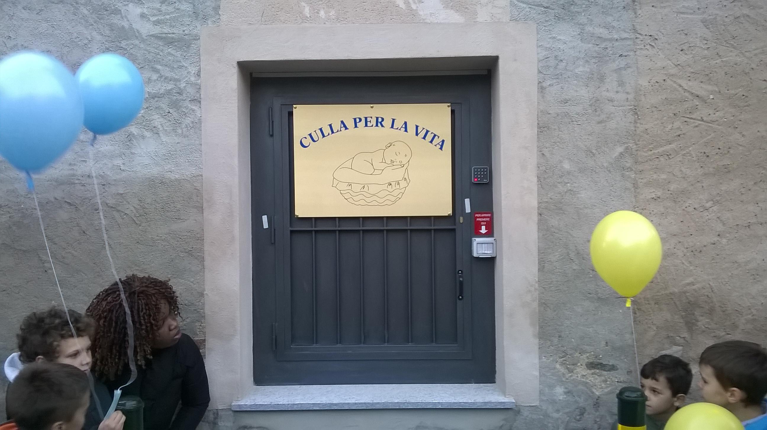 Giaveno. Inaugurata l'8 dicembre la culla che salva la vita