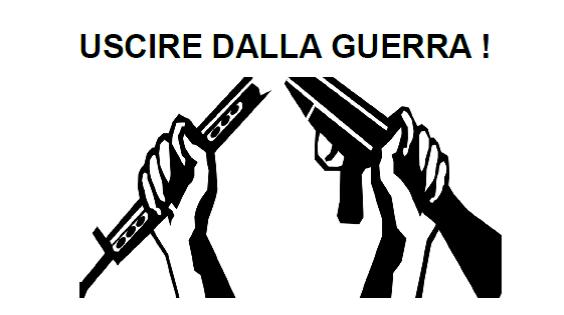 """Gruppo """"Uscire dalla guerra"""": rimandato incontro con Giorgio Cremaschi"""
