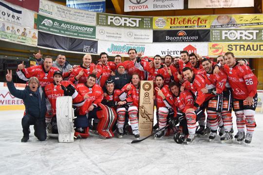 [Hockey] La Valpe espugna Brunico e vince la sua seconda Coppa Italia!