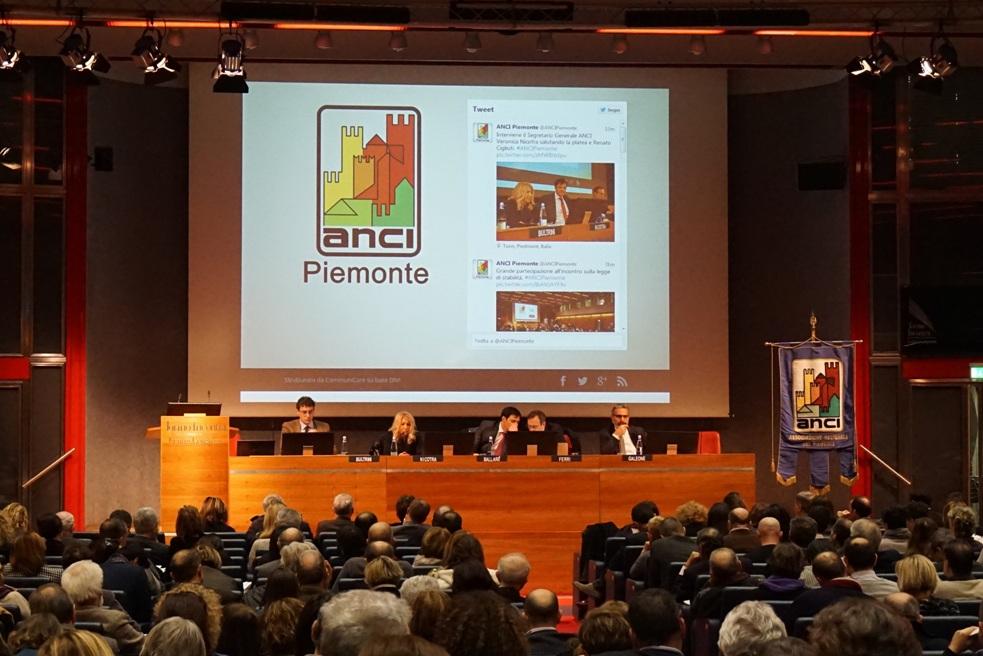 Torino. Hanno partecipato in 220 all'incontro ANCI sulla legge di Stabilità