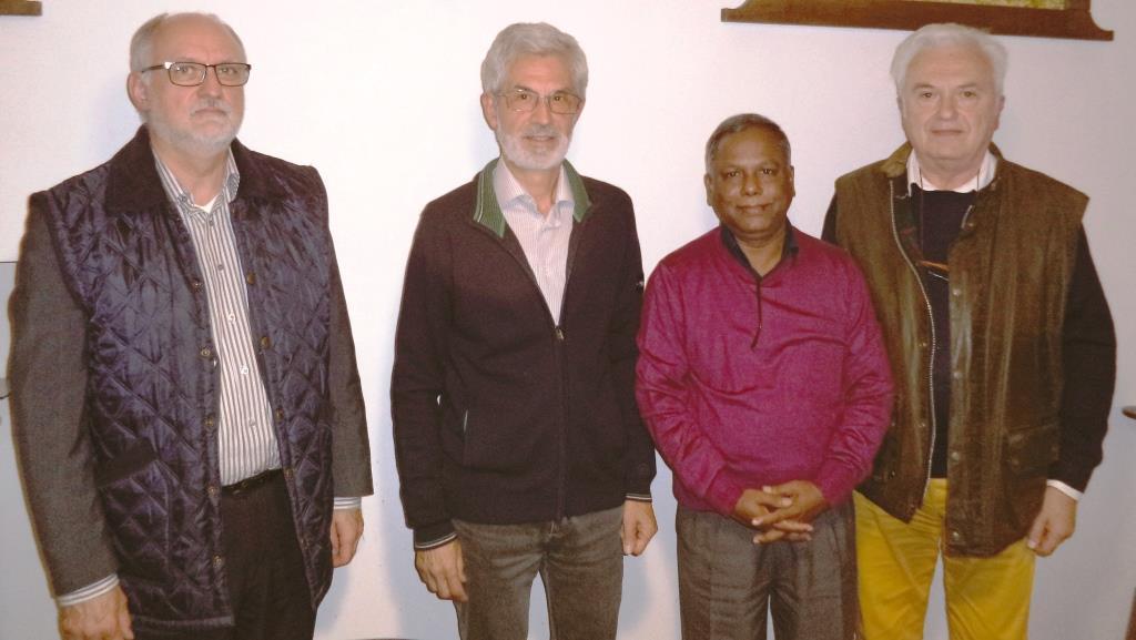 """Swapon Kumar Das, vincitore premio """"Nelson Mandela"""" a Pinerolo per una serie di incontri"""