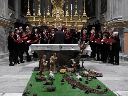 """[Photogallery] Nella chiesa di san verano """"In coro verso il Natale"""""""