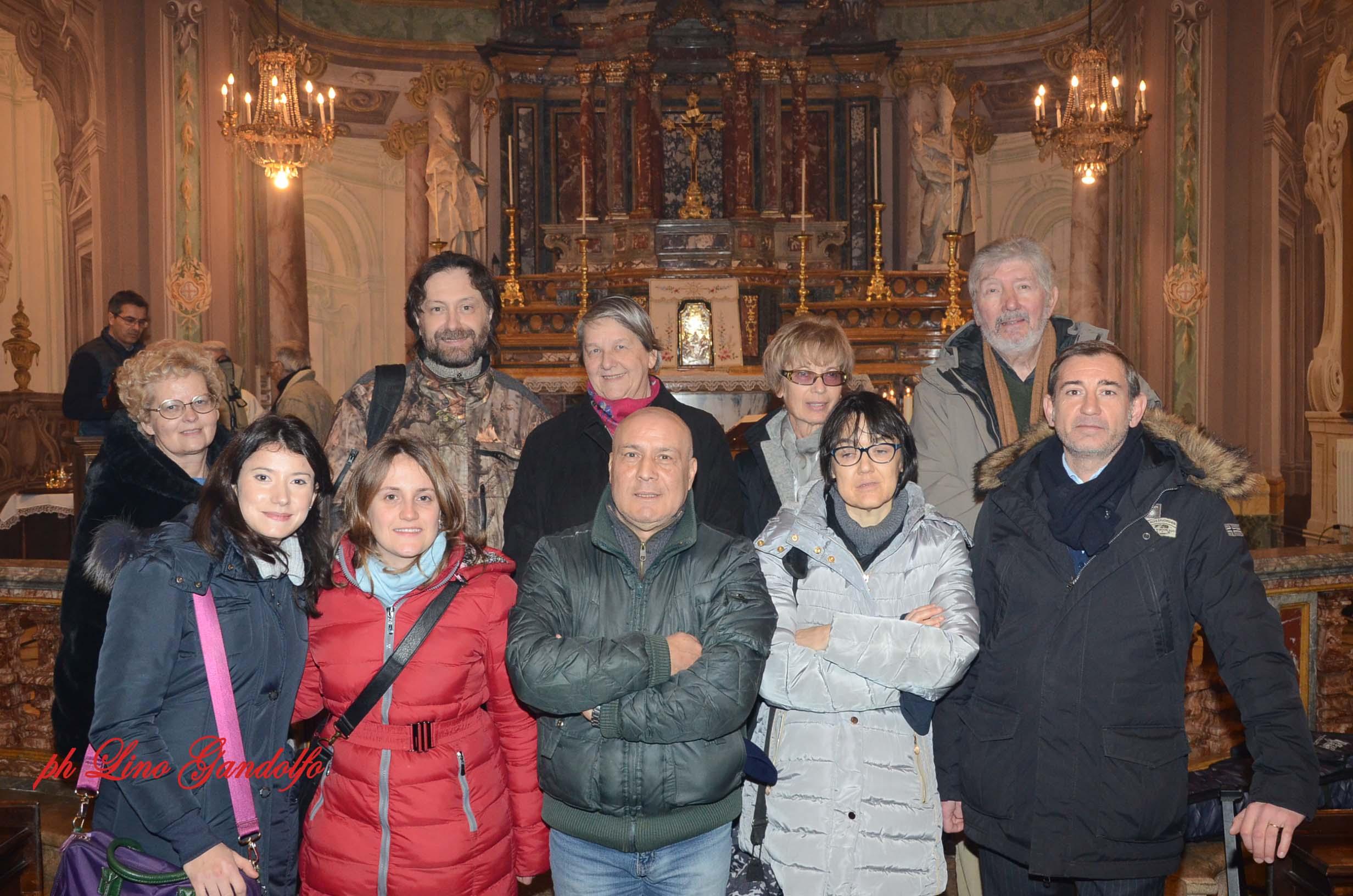 [Photogallery] Giornalisti di Pinerolo in festa per il patrono San Francesco di Sales