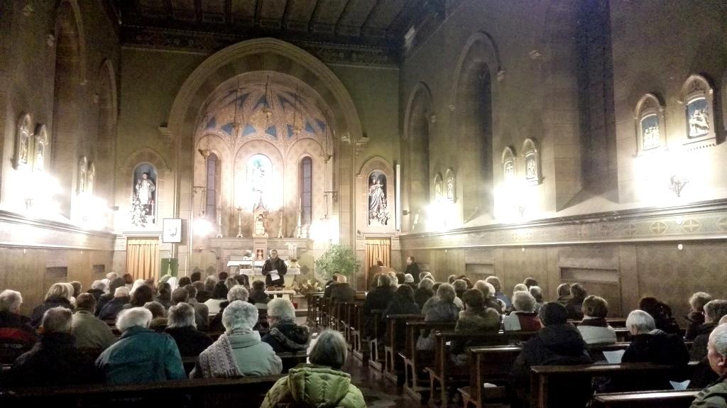 Perosa Argentina. Cristiani in preghiera per l'unità