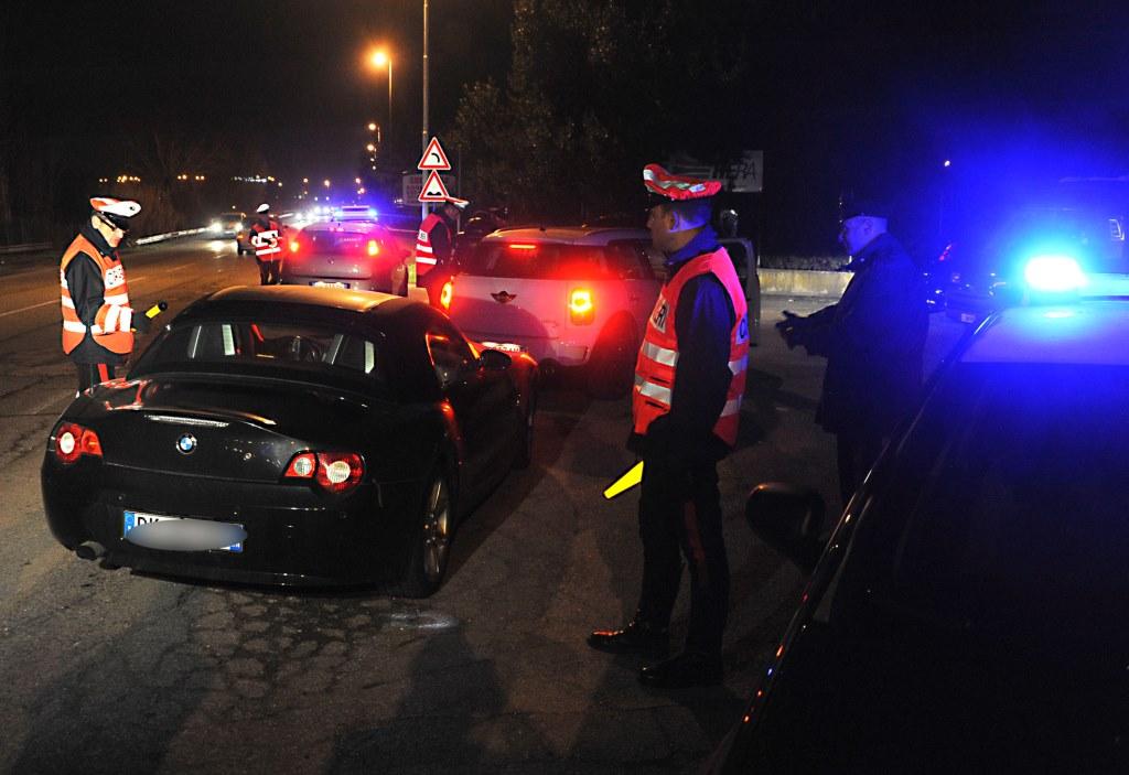 Cuneo. 258 militari impegnati nei controlli a tappeto contro alcool e droga