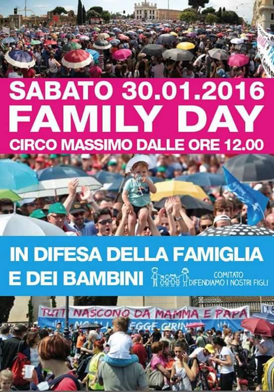 CAAV di Giaveno: ecco perchè andiamo al Family Day