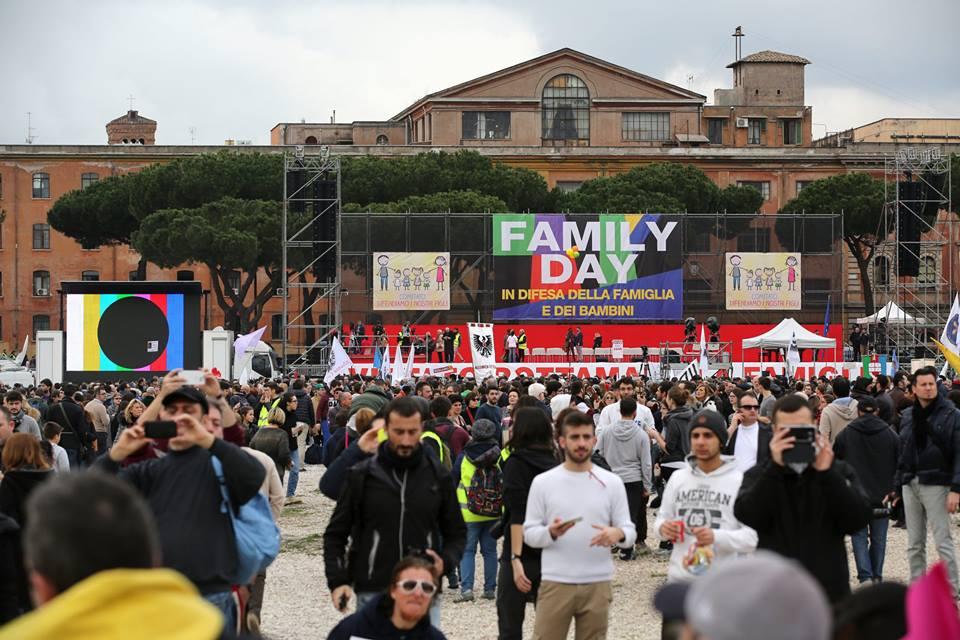 Family Day 2016. A Roma più di un milione al Circo Massimo