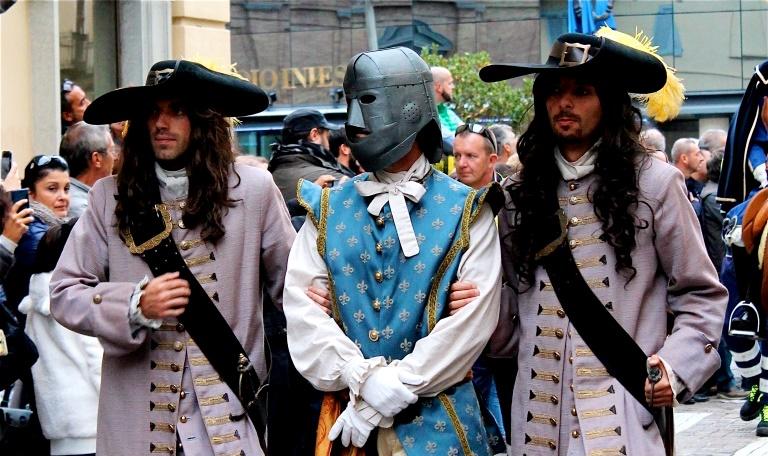 """1-2 ottobre: a Pinerolo torna la """"Maschera di Ferro"""". Il programma dettagliato"""