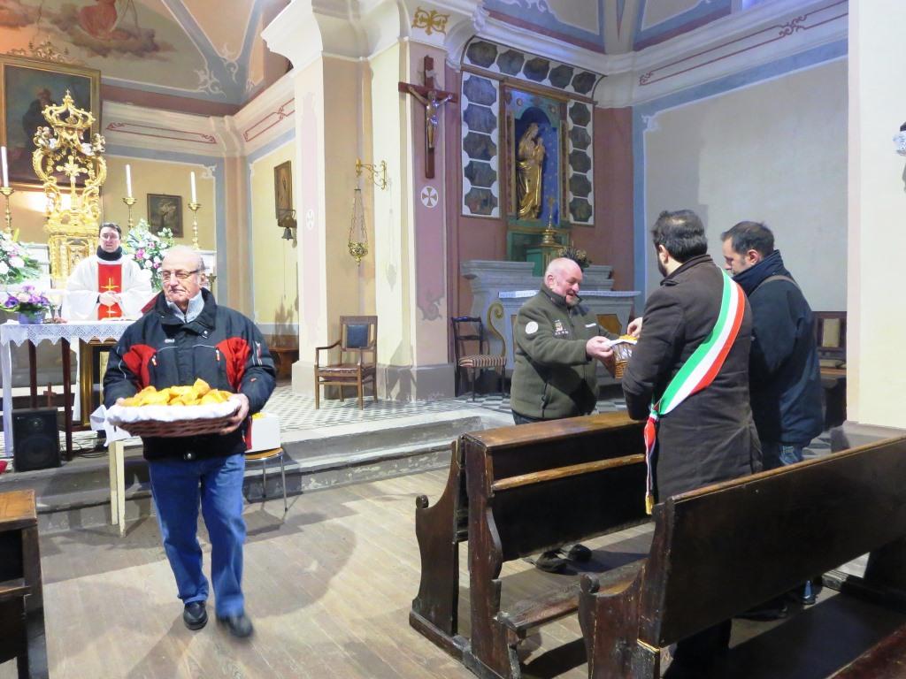 [Photogallery]Pinasca. Sant'Antonio riporta la festa a Gran Dubbione
