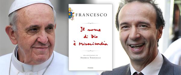 """Il 12 gennaio su Tv2000 la presentazione del libro di Papa Francesco """"Il nome di Dio è Misericordia"""""""