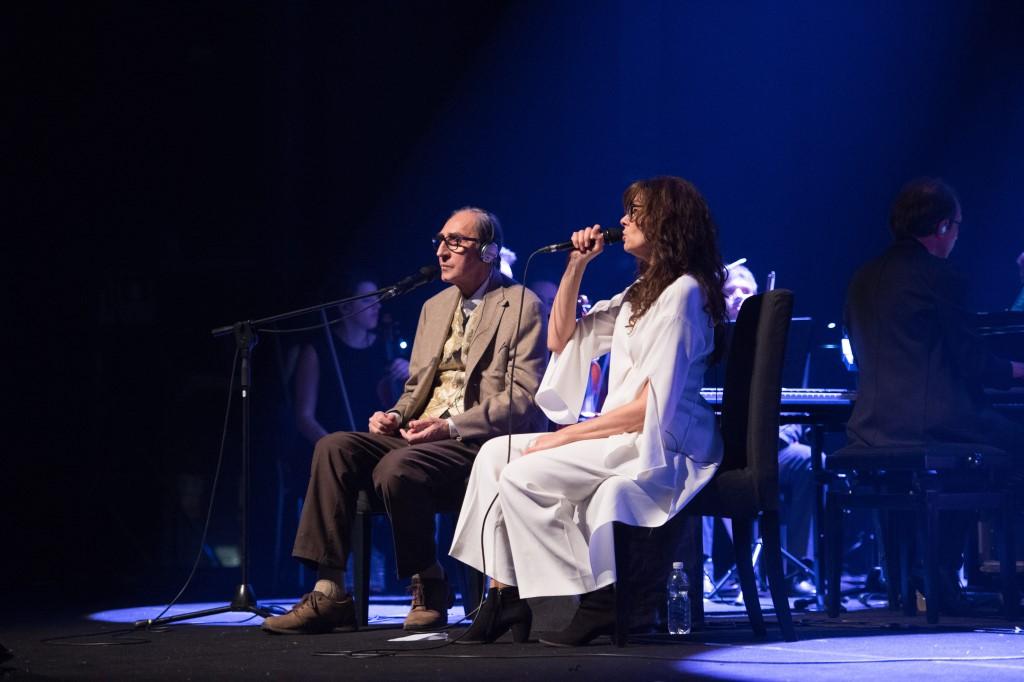 [ photogallery ] A Torino Alice e Battiato di nuovo insieme sul palco